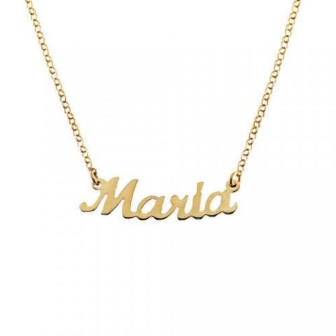 Colgante Nombre Plata Personalizado Maria